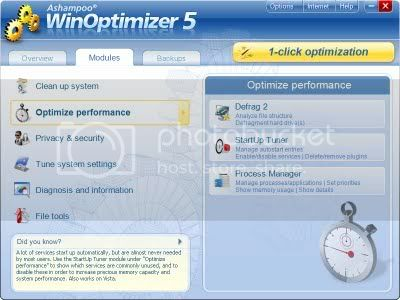 WinOptimizer 5 Descargar Ashampoo WinOptimizer con licencia legal gratis, por tiempo limitado